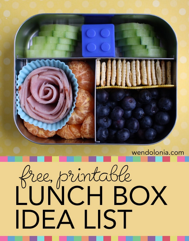 """But listen—I'm always on the lookout for lunch box ideas to make that process easier. If you're like me, you're probably already burned out on trying to come up with new, creative, healthy lunchbox ideas for your littles ones. (And heck, none of us want to have one of those notes sent home from the teacher about """"unhealthy Oreos."""")."""