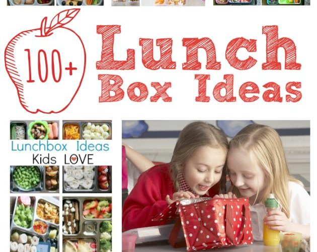 Lunch Box Ideas for Kids for Back to School curated by The Educators' Spin On It