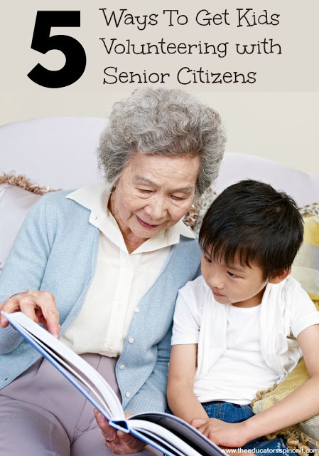 5 Ways For Kids To Volunteer With Senior Citizens