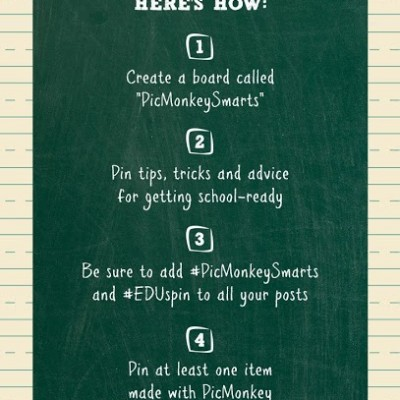 Back to School Fun with PicMonkey on Pinterest