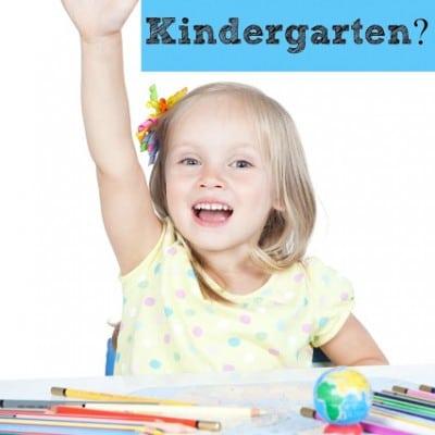 Sending a Smart Kid to Kindergarten