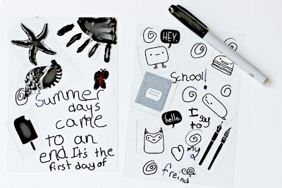 Solar Imaging Summer Days Journal Page