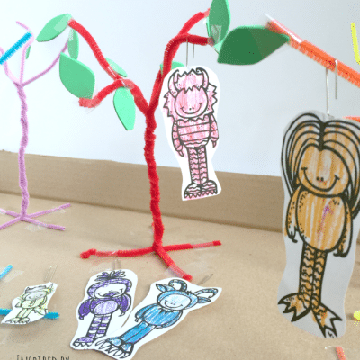 Where the Wild Things Are Color Tree Game