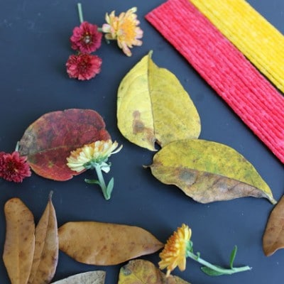 FALL STEM Challenge for Kids: Leaf Sculptures