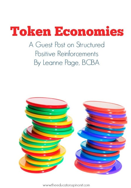 Token Economies for Mommies, a guest post on Structured Positive Reinforcements