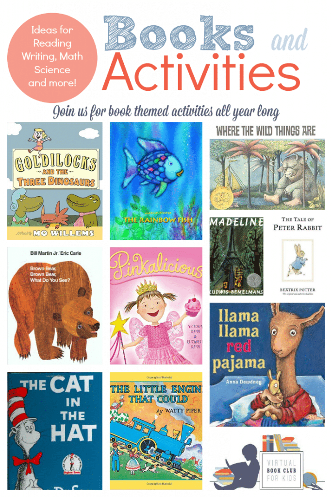 Virtual Book Club for Kids 2015-2016