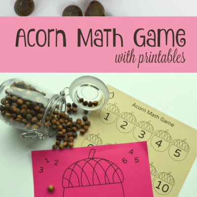Acorn Math Game for Kids