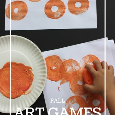 Roll and Stamp Pumpkin Patch Game for Kids