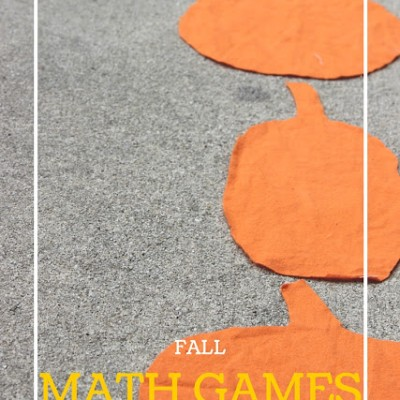 Pumpkin Pattern Path Math Game for Kids