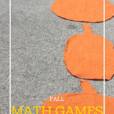 Pumpkin Pattern Path Math Game for Kids