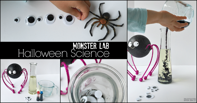 Monster Science Lab for Halloween Fun for Kids