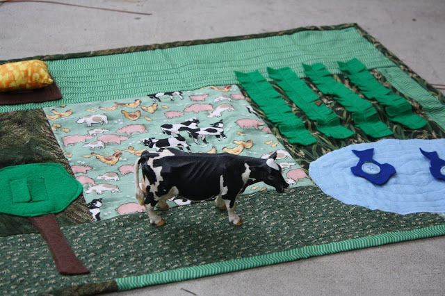 DIY Farm Pretend Play Mat