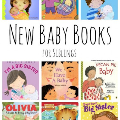 Best New Baby Books for Siblings