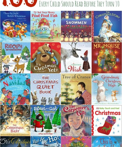 100 Christmas Books to Read with Your Child during their childhood.