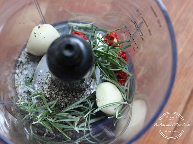 Herbed Rotisserie Roast with Portobello Mushroom Gravy