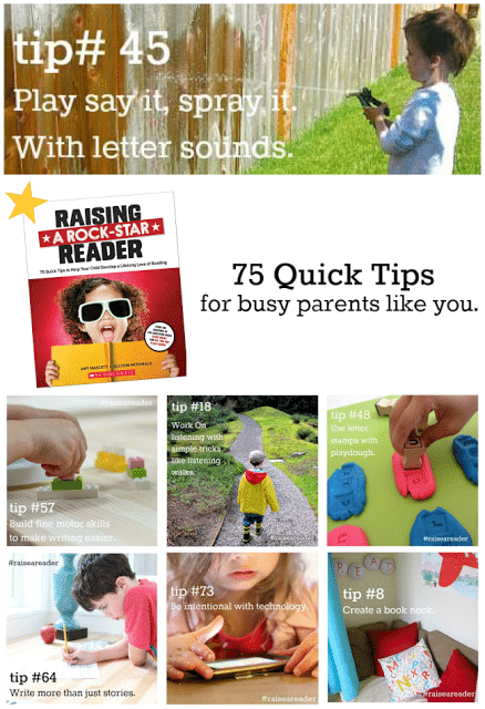 8 Tips from the book Reading a Rock-Star Reader! A must have book for parents and teachers!