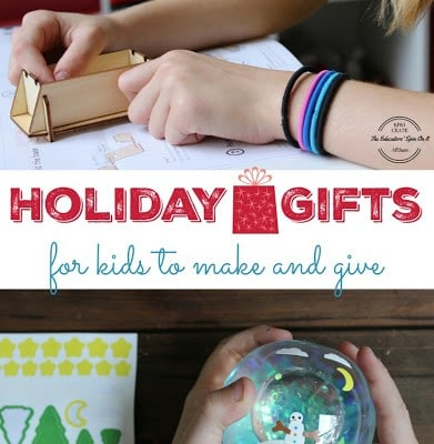 Kid Made Gifts – Holiday Crates Kiwi Crate