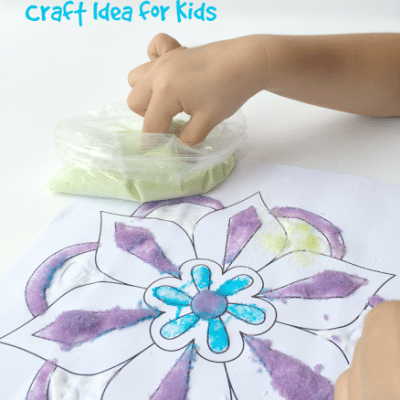 Rangoli Craft Idea for Kids