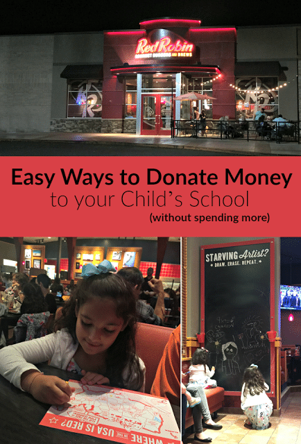 Finding Easy Ways to Donate Money for Your Child's School
