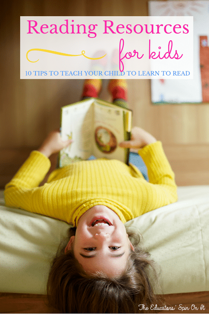 After School Activity Ideas for Kids for Enrichment and Support.  This article shares 10 great resources for helping kids learn to read.
