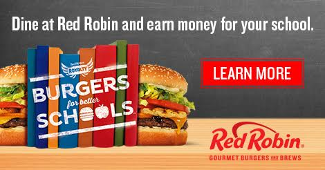 Dine at Red Robin and Donate Money to Your Child's School