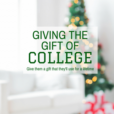 Giving the Gift of College