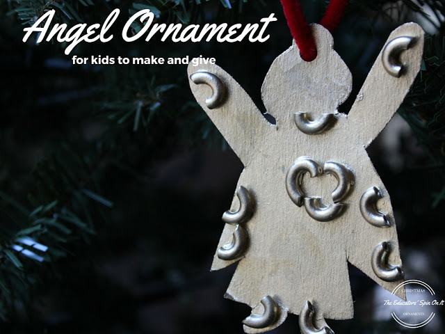 Angel ornament to make and give