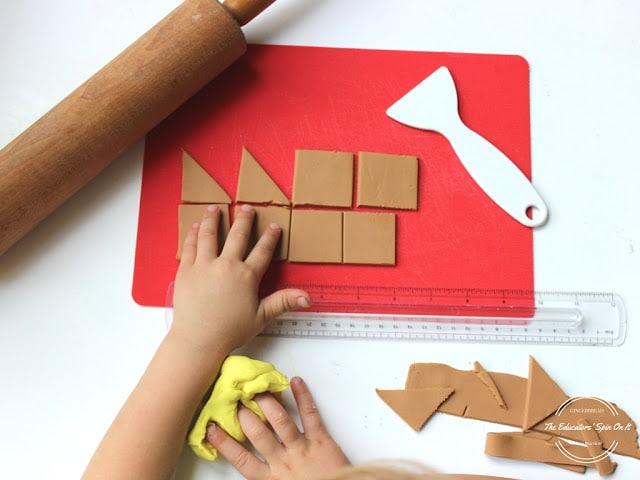 Gingerbread House Ideas for Kids - PLAYDOUGH houses!