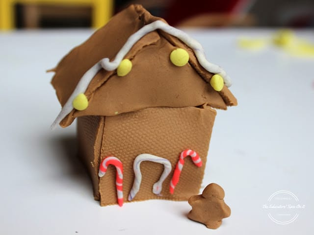 Gingerbread House Ideas for Kids - PlayDoh Houses!