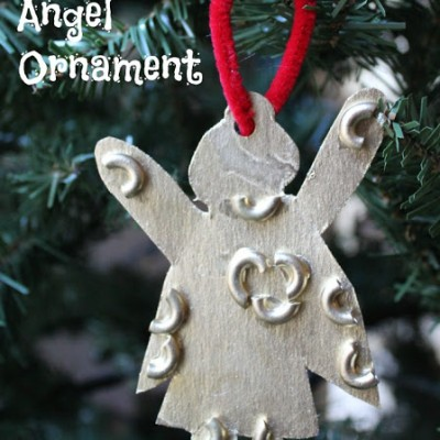 Classic Christmas Angel Ornament Math Game for Kids