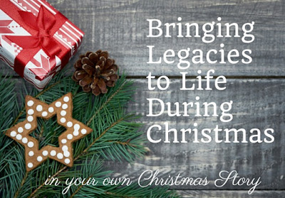Bringing Legacies to Life During Christmas in your Own Christmas Story. Celebrating your loved ones through the traditions they share with us. Take time this holiday season to write them down together.