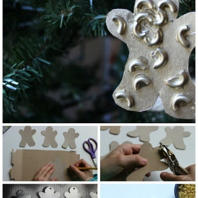 Easy Gingerbread Man Ornament