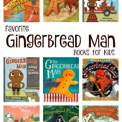 Gingerbread Man Books