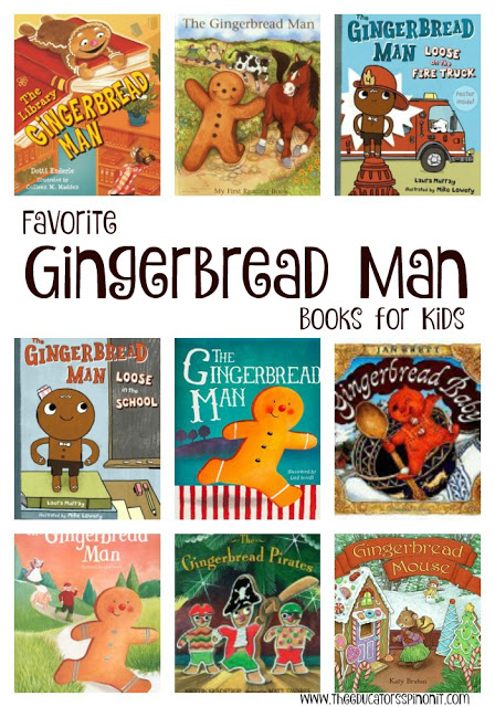 Gingerbread Man Books - The Educators' Spin On It