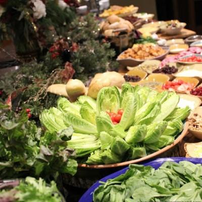 Christmas Salad Bar Ideas