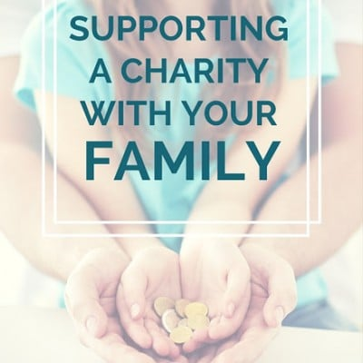 Supporting a Charity with Your Family