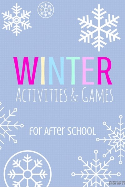 Winter Activities and Games for After School