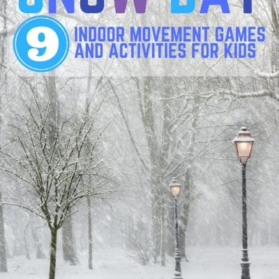 Indoor Movement Games and Activities for Kids