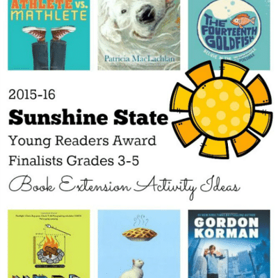 2015 -16 Sunshine State Young Readers Award Finalists Grade 3-5