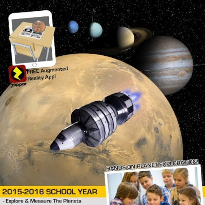 The Rockwell Adventures – Solar System Expedition Space Colony Design Challenge