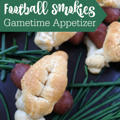 Football Shaped Appetizer Recipe for Gametime