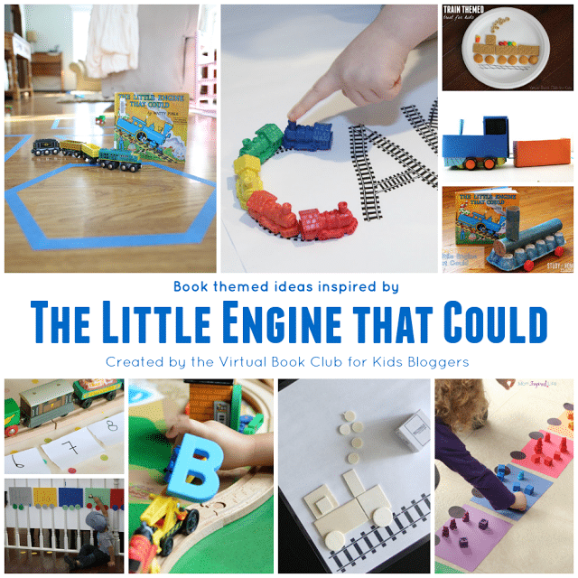 Train Themed Activities for Kids from the Virtual Book Club for Kids