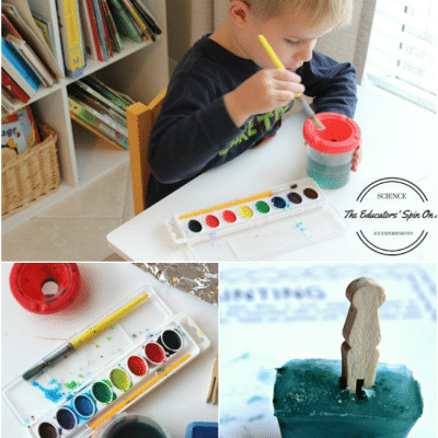 What makes ice melt faster? Simple ICE Science Experiments for Kids