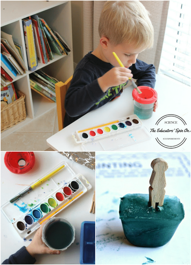 Simple ICE Science Experiments for Kids