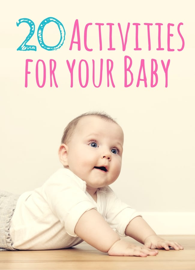 20 Baby Activities from The Educators' Spin On it