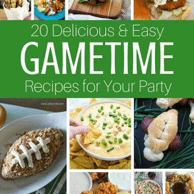 20 Must-Have GameTime Appetizers for the Big Game on Sunday!