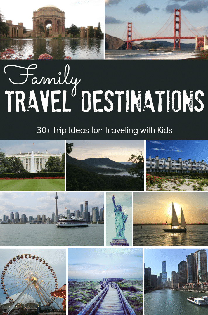 Family Travel Destinations from Kim Vij