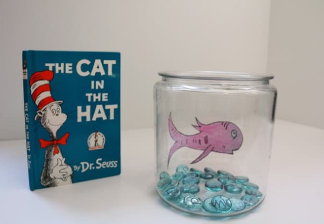 Cat Hat Fish Coloring Pages Spectacular Dr Seuss In The With