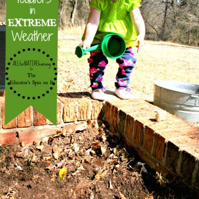 Kids Gardening in Extreme Drought Conditions