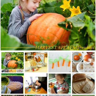 HARVEST Preschool Activities: A Social Studies Lesson #PLAYfulpreschool